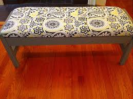 How To Make Bench Cushions Easy Diy Bench Beautification Linzi U0027s Life On The Run