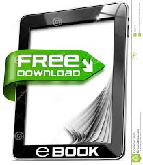 e book free download tablet computer stock illustration image