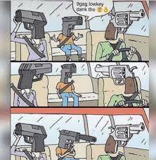 Know Your Meme 9gag - gun family silencer meme random stuff and memes