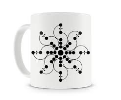 science art coffee mugs