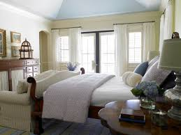 transitional bedroom design vintage queen size canopy bed fabric