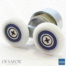 di vapor r double shower door roller replacement 4mm to 6mm