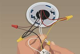 Green Light On Smoke Detector Steps To Install Hard Wired Smoke And Co Alarms At The Home Depot