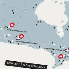 Canada Map by Canada Zombie Safe Zones Design Different