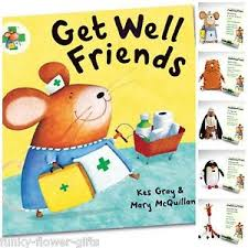 get well soon gift get well friends cuddly toys book get well soon gift ebay