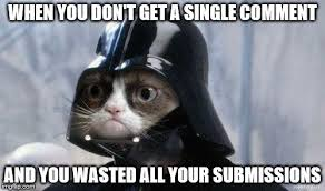 Star Wars Cat Meme - grumpy cat star wars memes imgflip