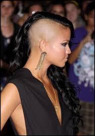braids with half shaved head 50 great cassie hairstyles photos strayhair