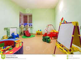 small game room in kindergarten stock photo image 86012639