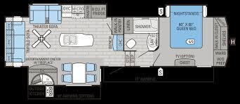 eagle fifth wheel floor plans uncategorized jayco 5th wheel floor plans in wonderful 2016