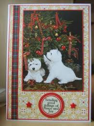handmade christmas card made with christmas moments by pollyanna
