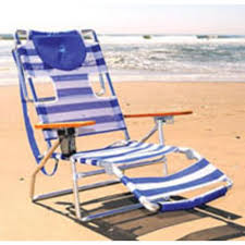 Rio 5 Position Backpack Chair Ostrich 3n1 5 Position Lounger Beach Chair