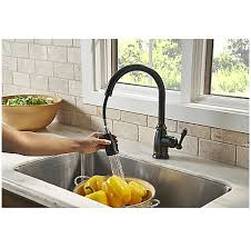 tuscan bronze canton pull down kitchen faucet f 529 7cny