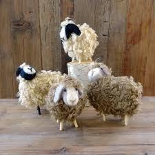 rf523f shaggy sheep ornament