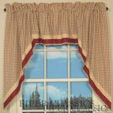 Country Style Window Curtains Prairie Curtains For Wide Windows Curtain Rods And Window Curtains