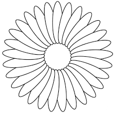 flower basket coloring pages for kids at eson me