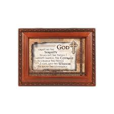 serenity prayer picture frame serenity prayer box the catholic company