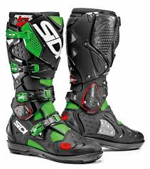 off road motorcycle boots sidi crossfire 2 srs offroad motorcycle boots neon green black