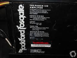 rockford fosgate punch 150 hd page 3