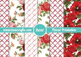 vintage floral wrapping paper howcrafts floral wrapping paper downloadable pdf for unlimited prints