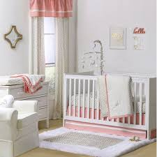 Zig Zag Crib Bedding Set The Peanut Shell 4 Baby Crib Bedding Set Gold Zig Zag