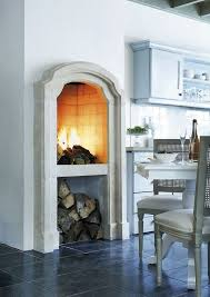 kitchen fireplace ideas a tuscan vacation made me fall in w this kitchen