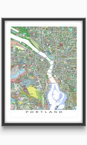 Portland City Maps by