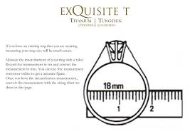 sizing rings online images Exquisite titanium singapore understand your ring size jpg