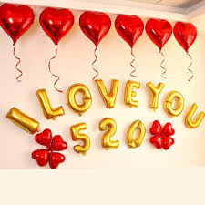 valentines day balloons wholesale 18 inch balloons new aluminium foil wedding party balloons