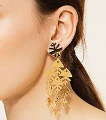 Tory Burch Beaded Chandelier Earring Copper Tory Burch Fish Mismatched Earring Jewelry Pinterest