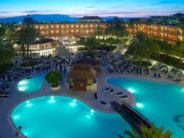 perfect holiday tenerife spain hotel pool at night