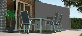 brise vue amovible store latéral brise vue de terrasse jardin balcon ici store