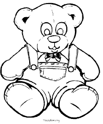 teddy bear coloring sheets google search happy teddy bear day
