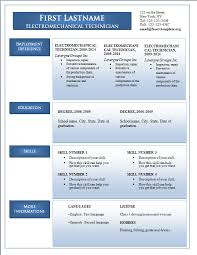 Free Resume Samples In Word Format by Freecvtemplate Org U2013 Page 7 U2013 Free Cv Resume Templates In Doc Format
