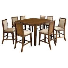 rustic dining room sets target