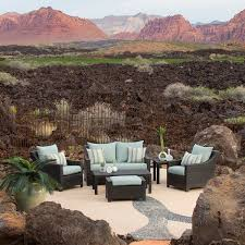 patio chair with ottoman set patio outdoor chair and ottoman set