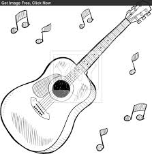 guitar s free coloring pages on art coloring pages