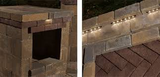 Lighting For Patios Cambridge Pavingstones Cambridge Hardscape Lighting