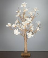 everlasting glow white 24 magnolia light up tree zulily