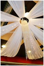 Hanging Drapes From Ceiling Wedding Hall Decoration Ceiling Draping Kits For Party Decoration