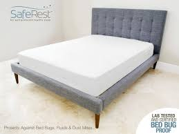 Bed by Amazon Com Saferest Premium Zippered Mattress Encasement Lab