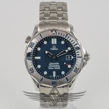 stainless steel bracelet omega watches images Omega seamaster 300m bond diver 41mm blue dial high polish jpg