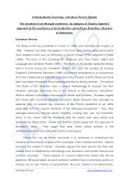 best photos of literature review sample literature review