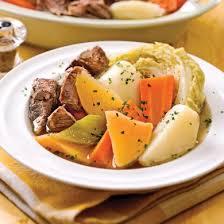 legumes cuisines bouilli de boeuf aux sept légumes recettes cuisine et