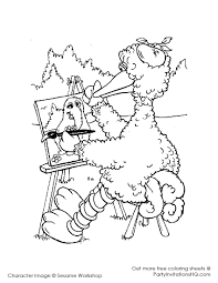 big bird free coloring pages on art coloring pages