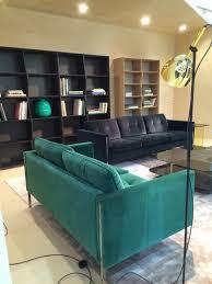 cinna canapes canape bleu cinna maison objet 2016 living room