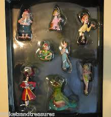 disney pan storybook ornament collection set of 8