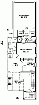 narrow house plans with garage apartments narrow floor plans narrow house plans home design