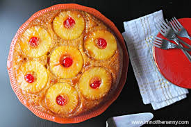 lighter upside down pineapple cake in cast iron skillet i u0027m not