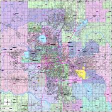 oklahoma zip code map editable central oklahoma city ok map with roads highways zip