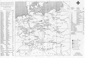 Kassel Germany Map by Maps Of German World War Ii Prisoner Of War Camps